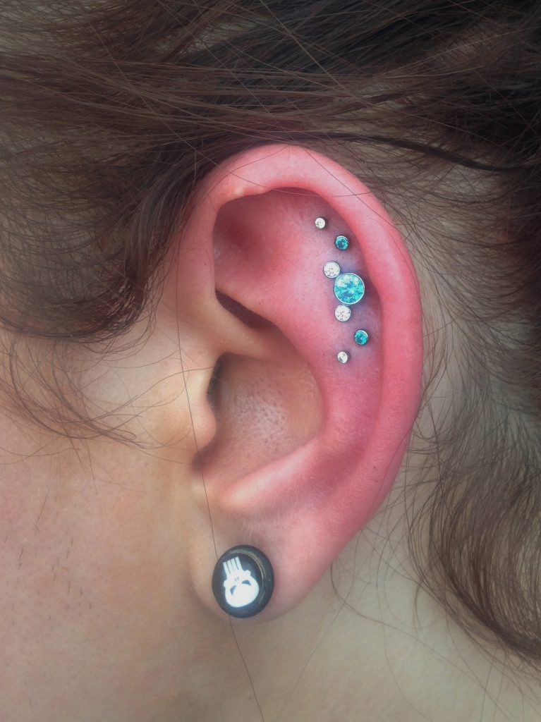 Helix Constellation Integrity Piercing